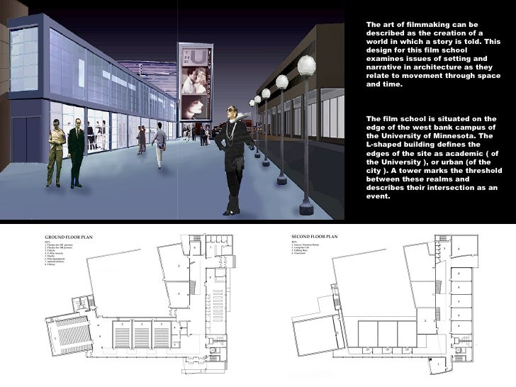 architecture portfolio examples for university application