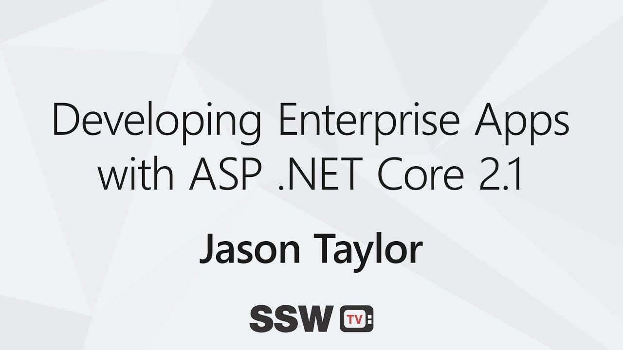 asp net core sample application