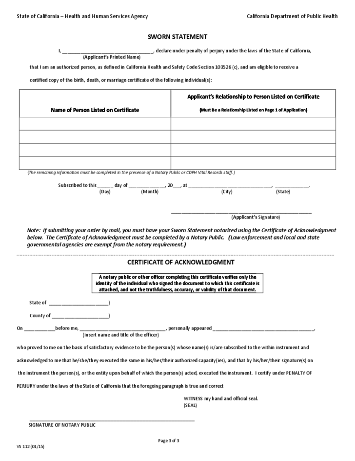 australian birth certificate application form