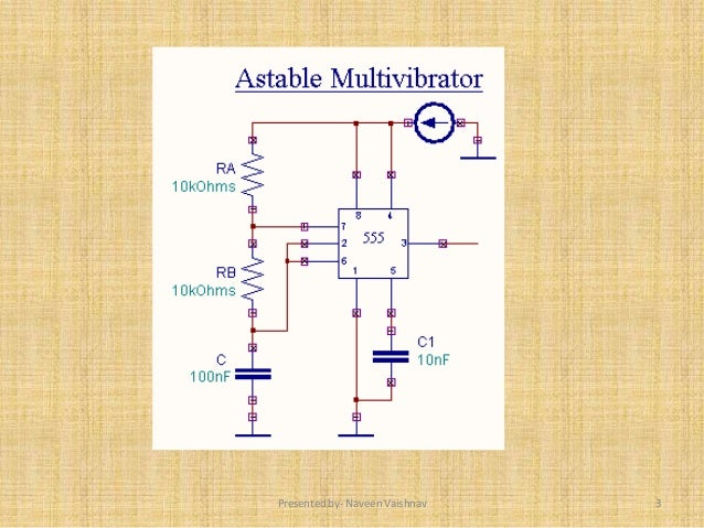 astable multivibrator using 555 timer applications