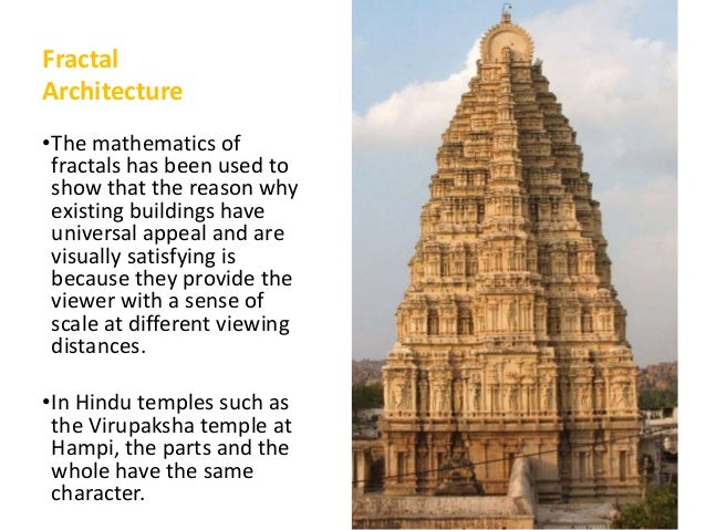 application of fractals in architecture