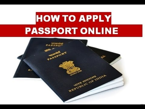 fresh indian passport online application
