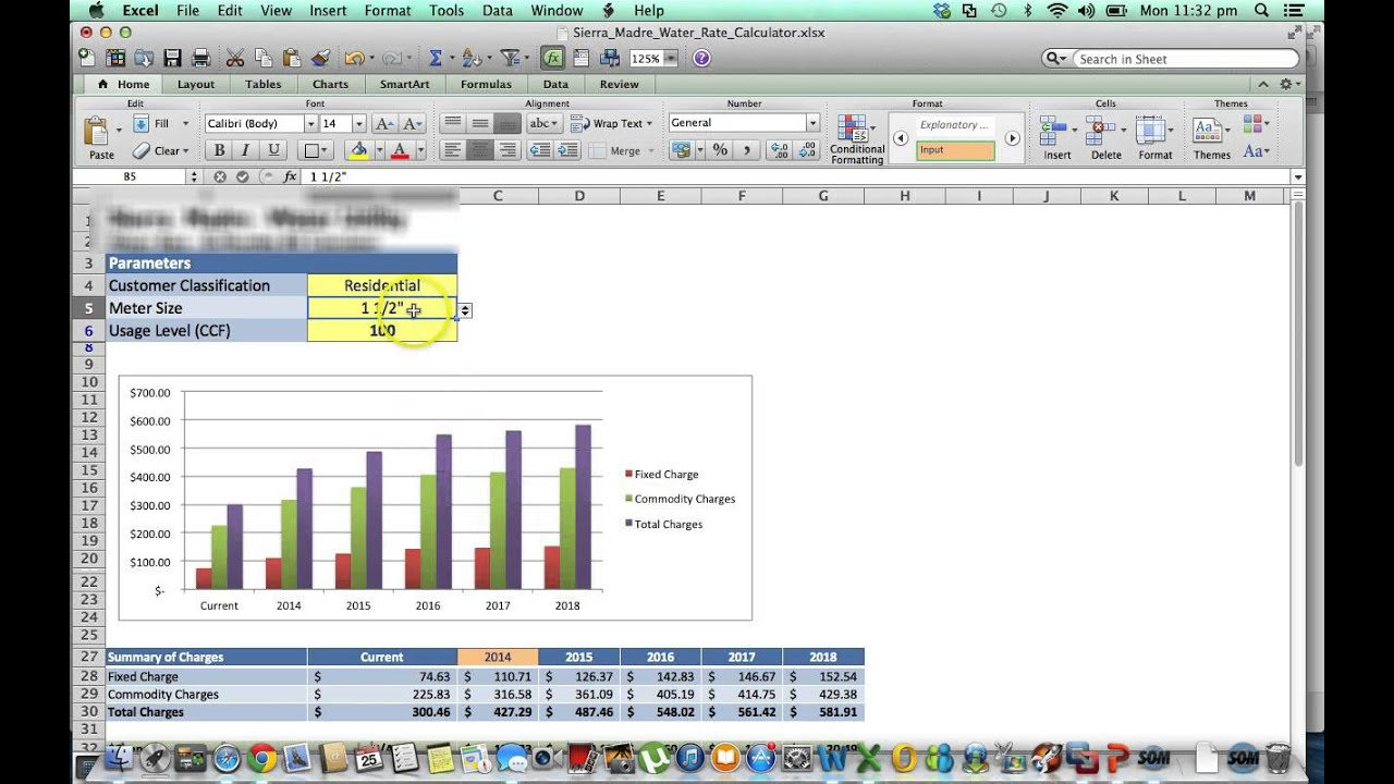 convert excel sheet to web application