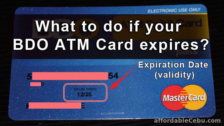 bdo debit card application requirements