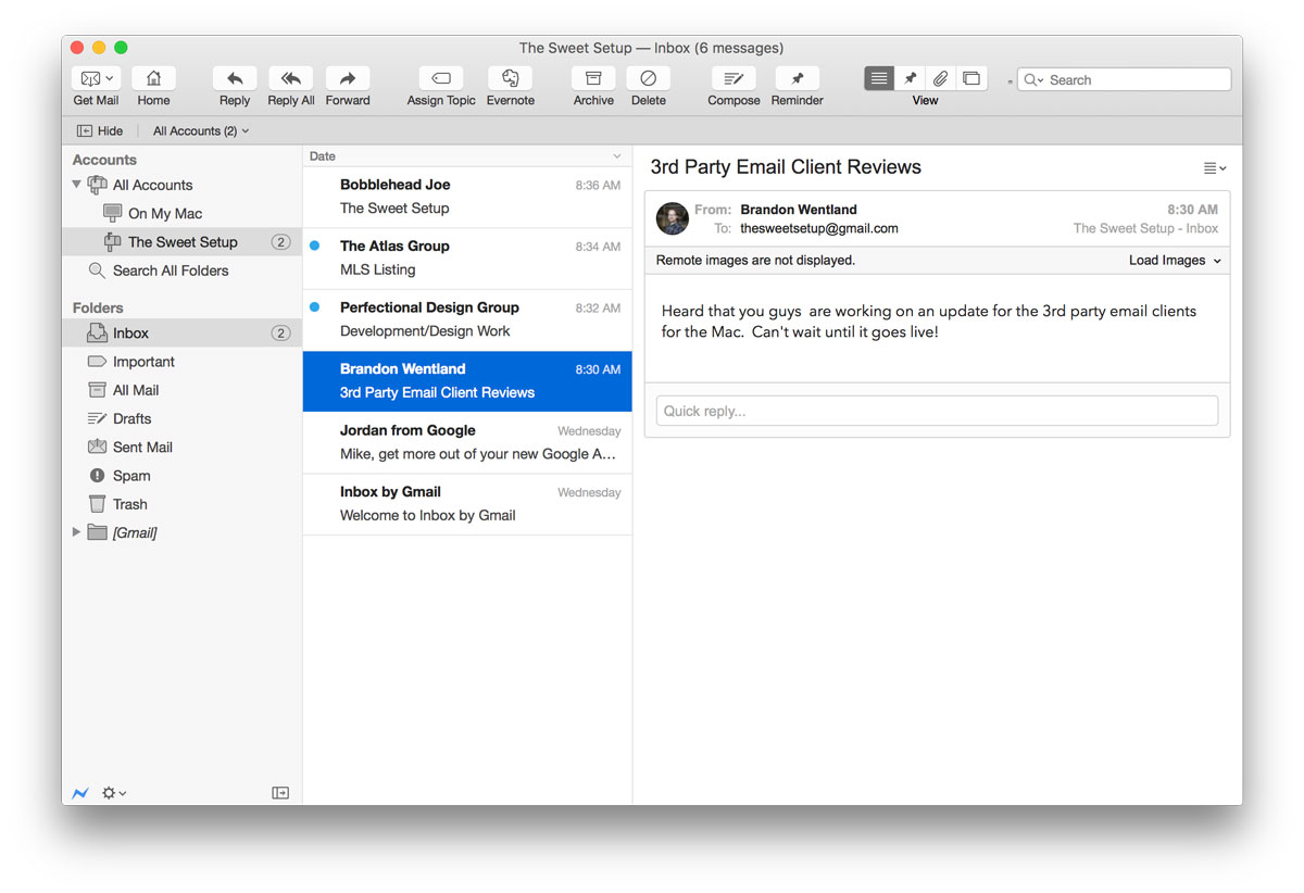 best email application for mac