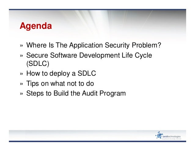 building an application security program