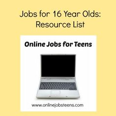 job applications for 16 year olds