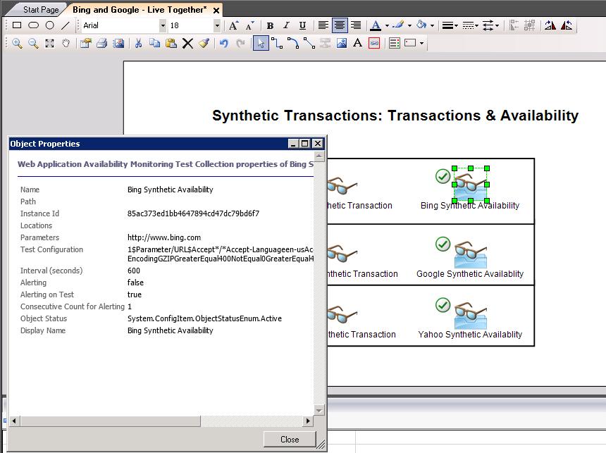 scom web application availability monitoring authentication
