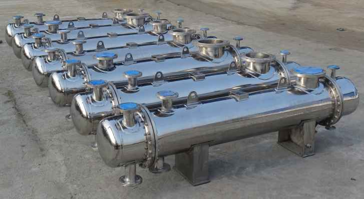 shell and tube heat exchanger applications