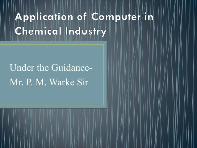 application of chemical kinetics in industry