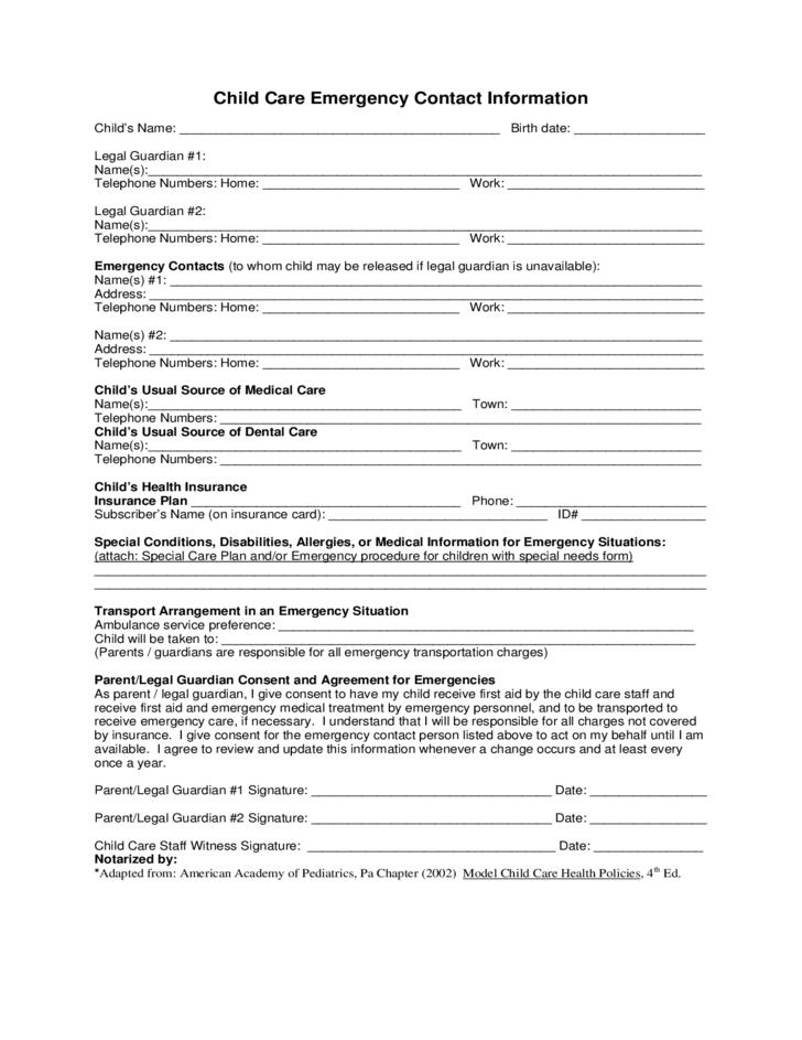 care home application form example