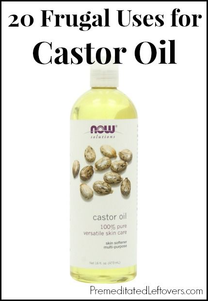 castor oil application for hair