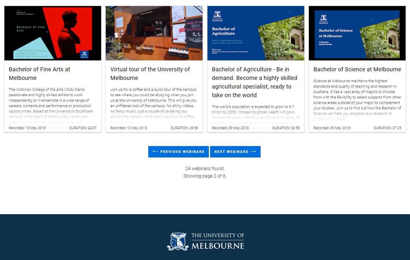 university of melbourne international application form