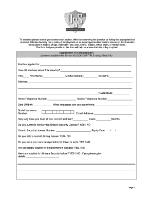 application form for private security agency