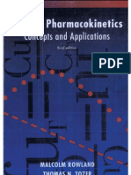 clinical pharmacokinetics and pharmacodynamics concepts and applications pdf