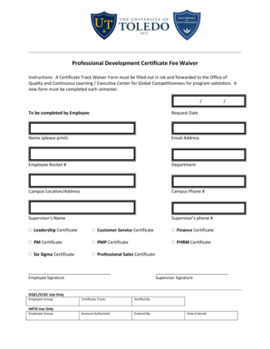 college application fee waiver form