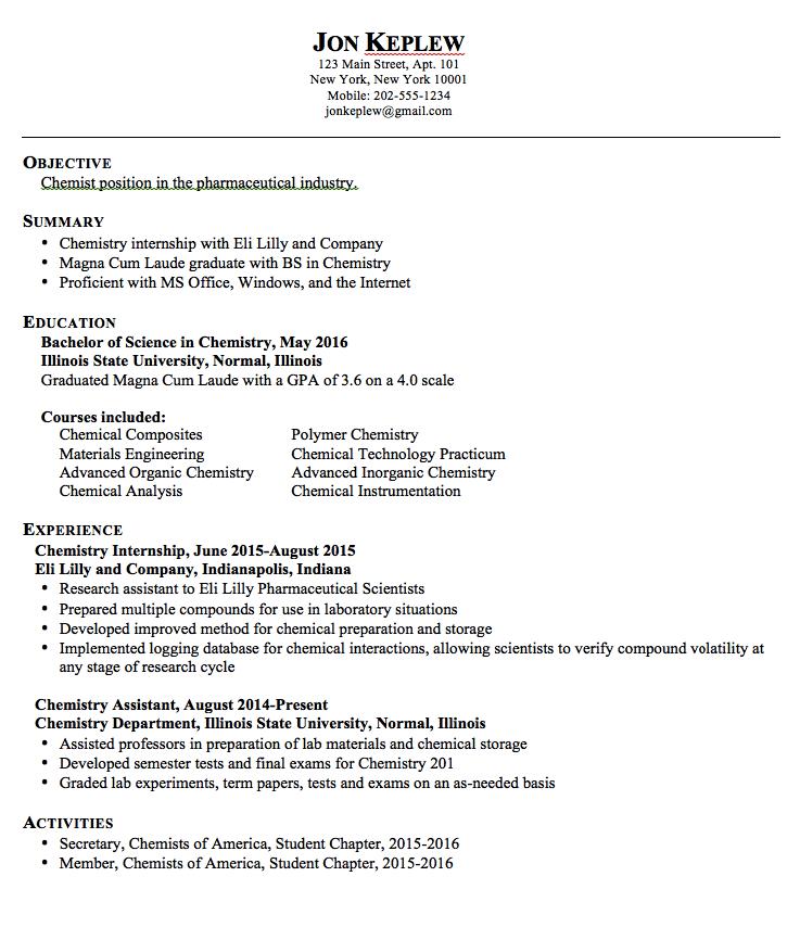 cv format for phd application