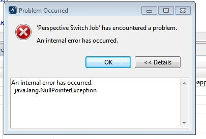 unhandled exception error has occurred in your application