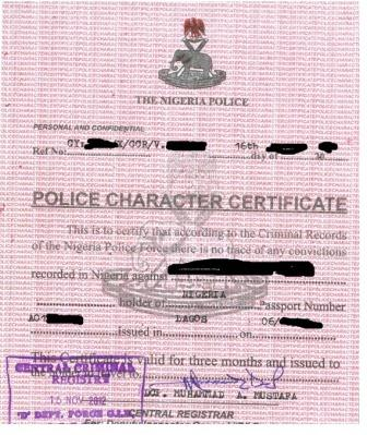 application form for australian federal police clearance