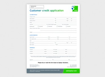 shell credit card application form