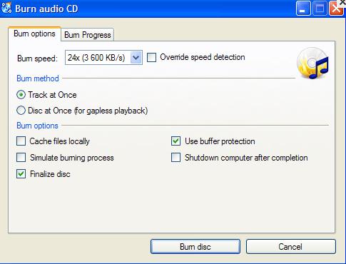 cd burn application free download