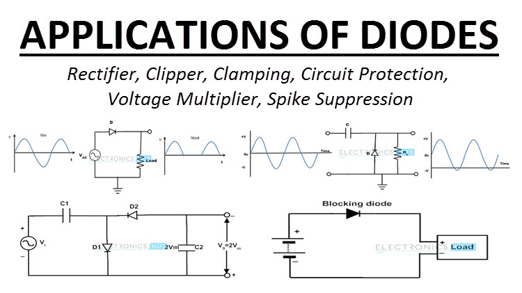 applications of diodes and transistors