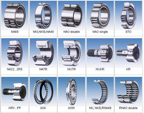 different types of bearings and their application