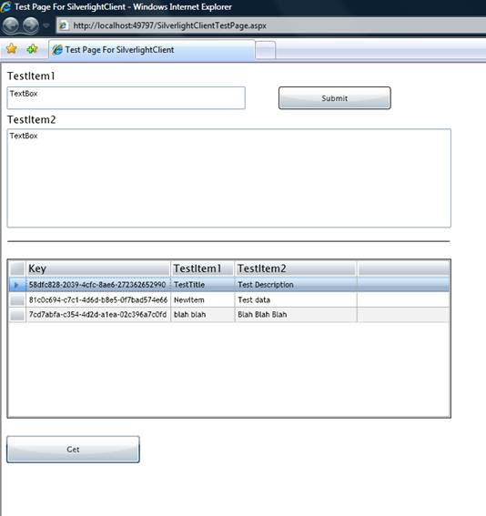 adding wcf service to web application
