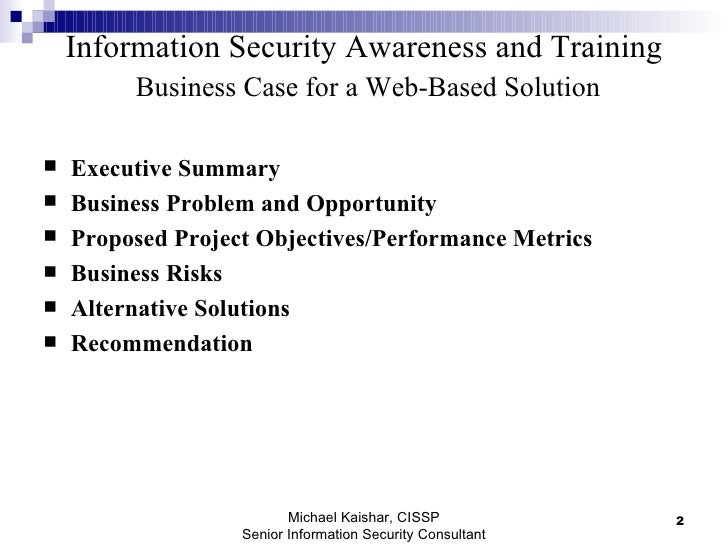 web application security report template