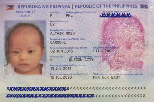 us passport application for new born baby