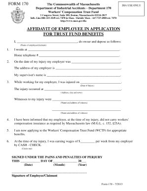 family trust fund application form