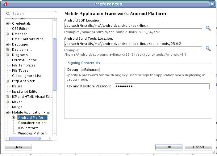 oracle mobile application framework developer guide