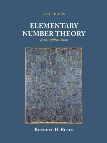 elementary number theory and its applications 6th edition solutions