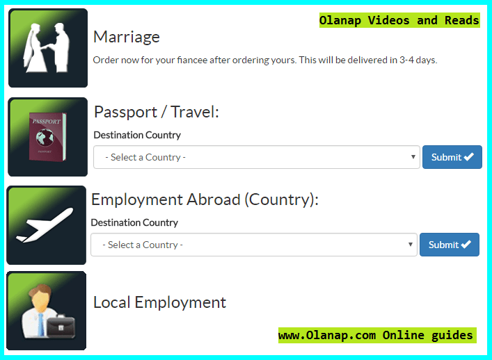 nso marriage certificate online application