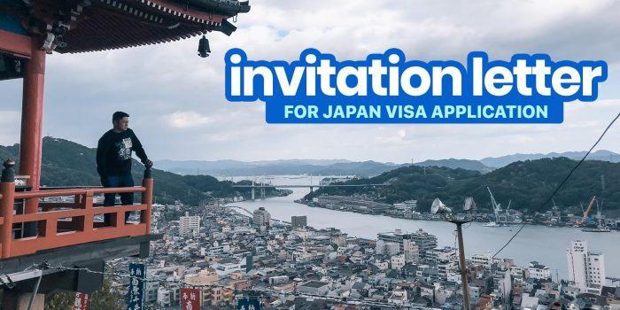 japan visa application itinerary sample