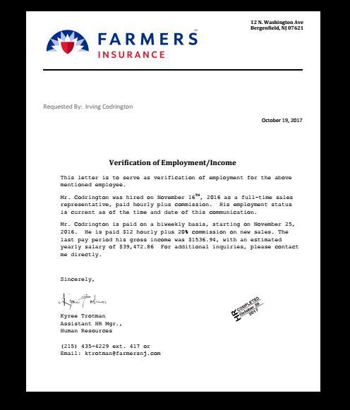 bank job application letter format