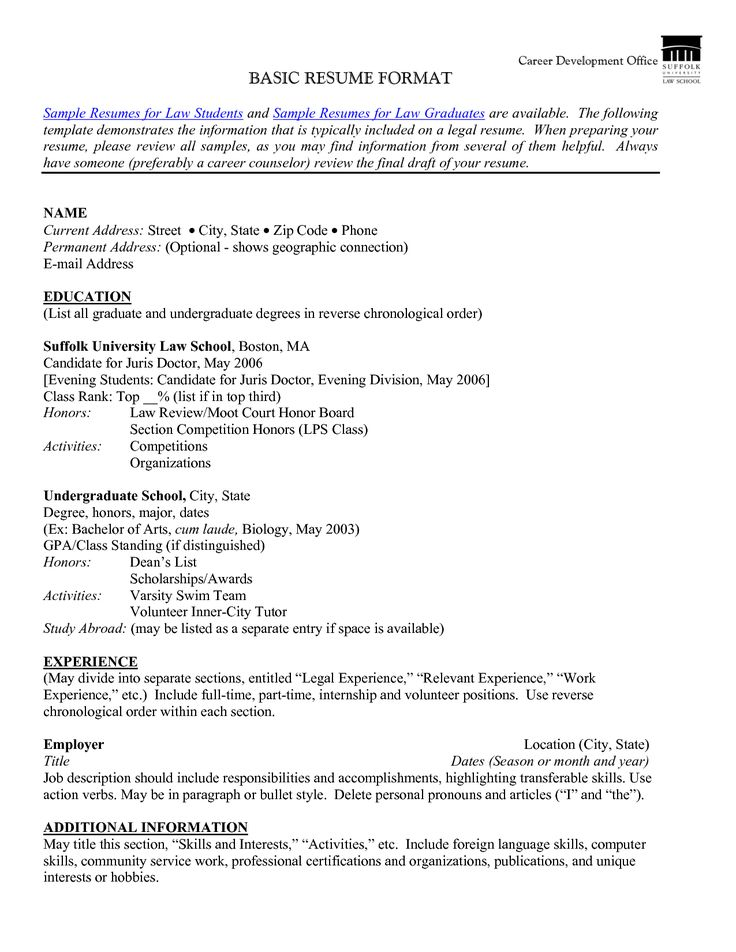 hobbies and interests for job application