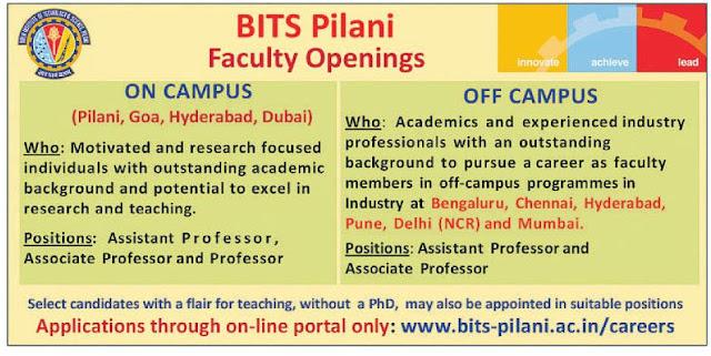 bits pilani application form 2018
