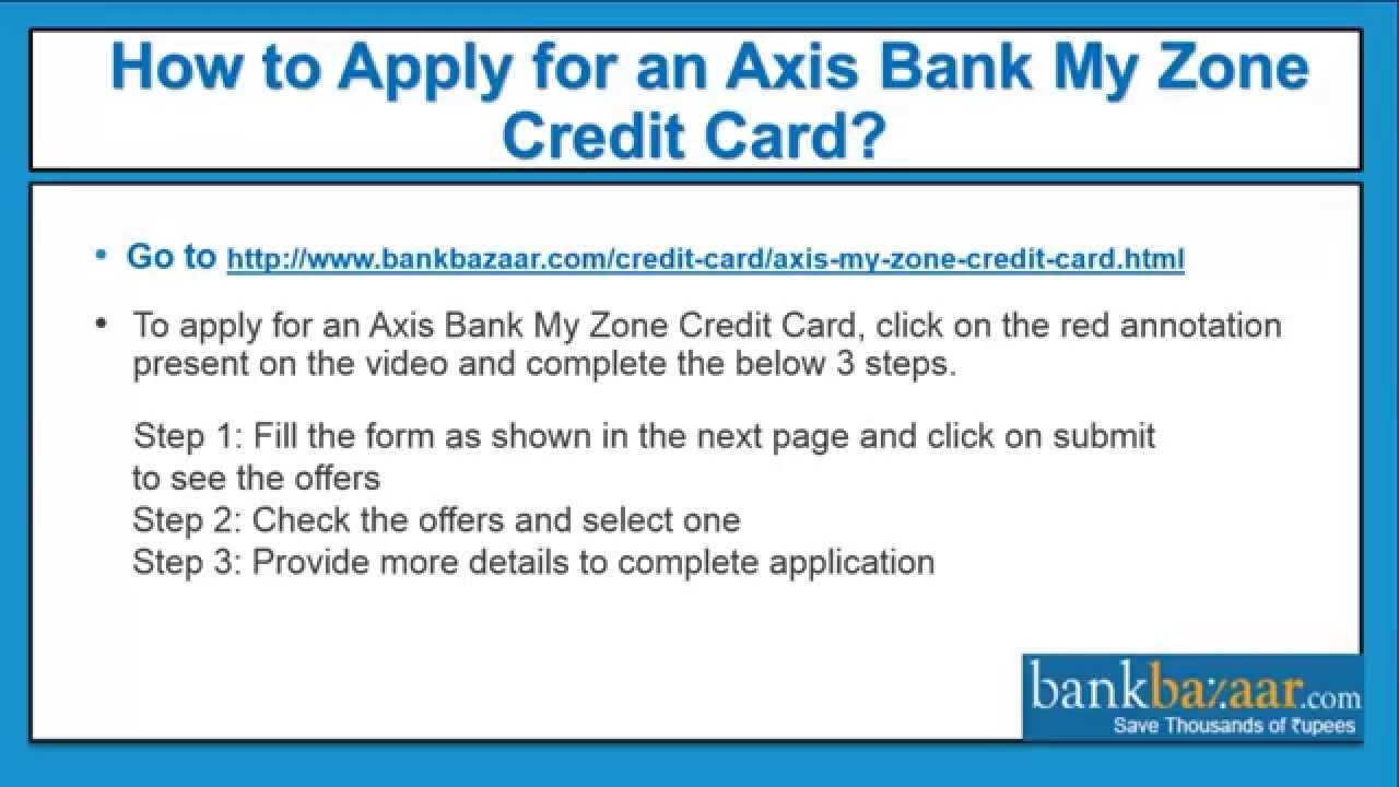 bank sa credit card application