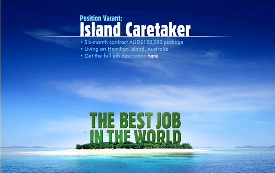 paradise island caretaker job application