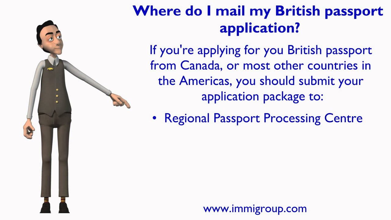 where do i mail my passport application