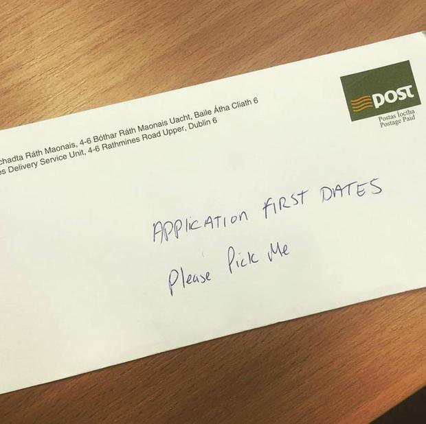 first dates tv show application