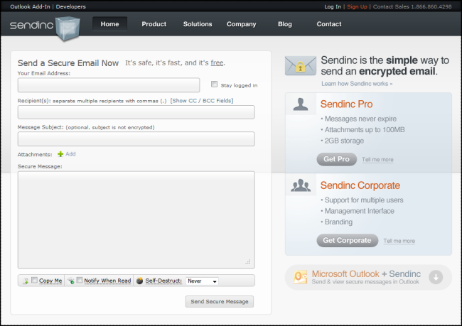 free email application like outlook