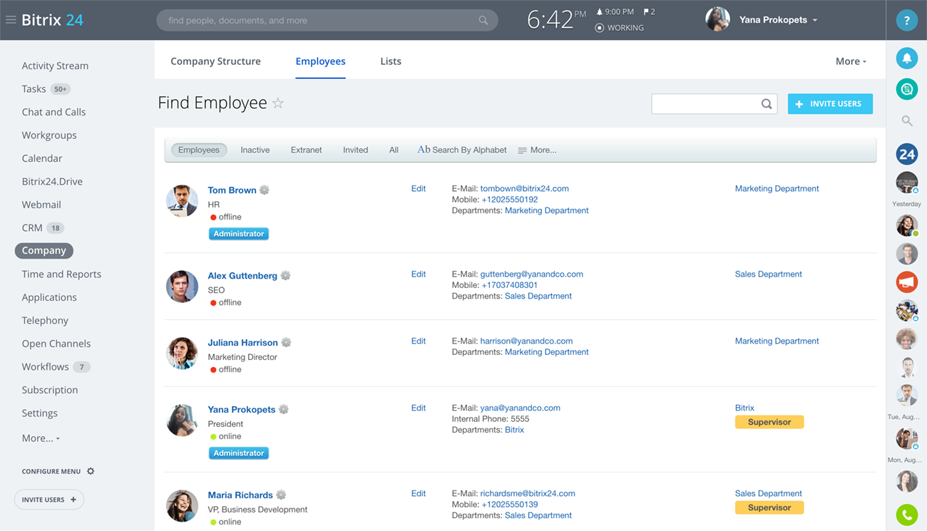 free php database application builder