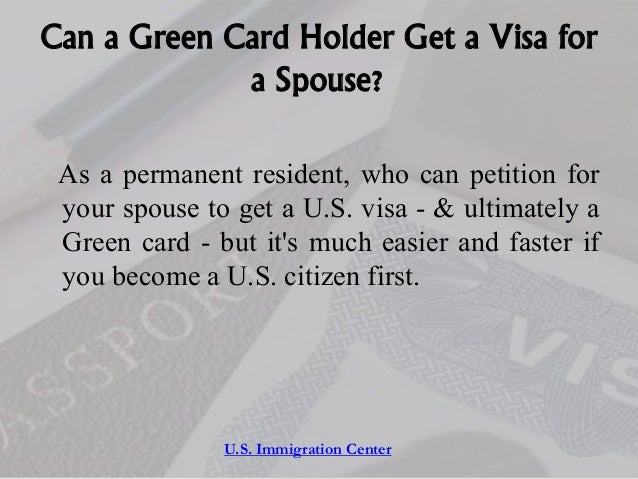 green card application for spouse