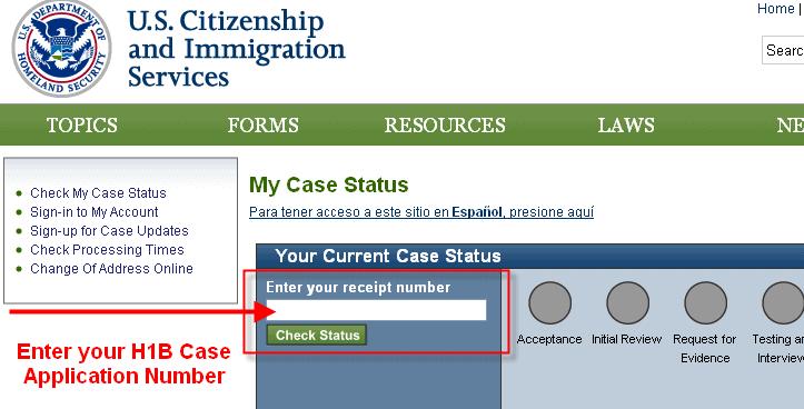 h 1b visa application process