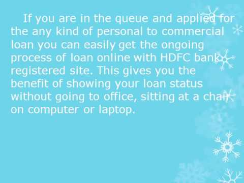 hdfc credit card online application status