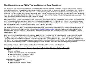 home care aide certification application