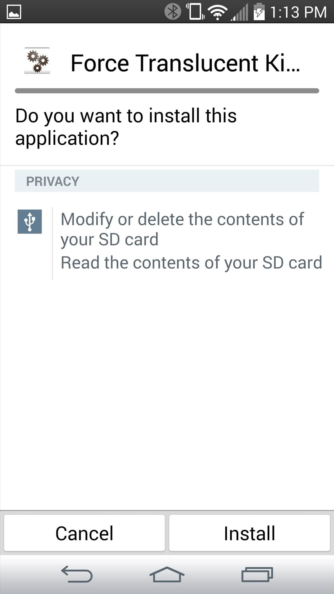 how can i make an application