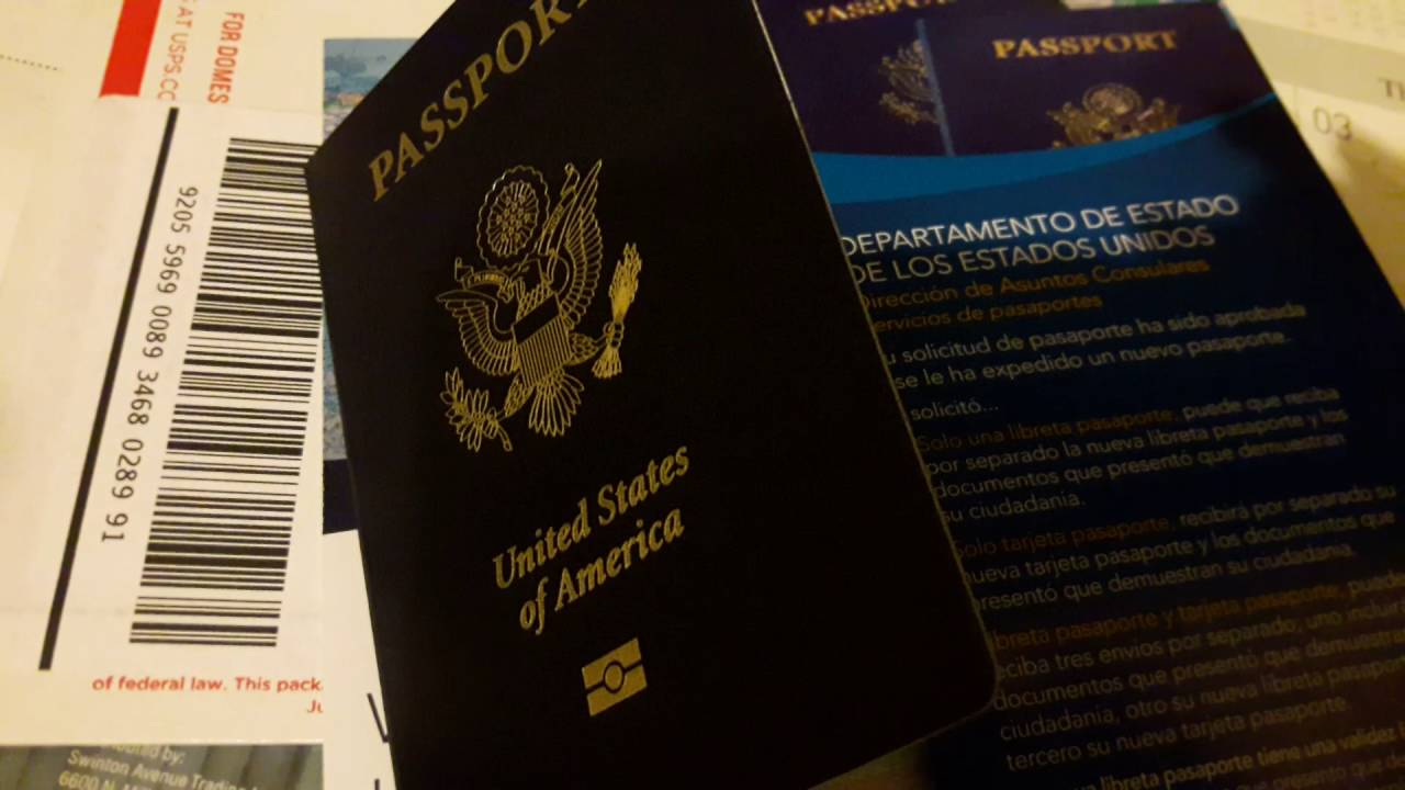 how long does it take for passport application